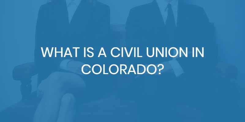 colorado civil union